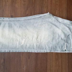 ec04ac7a Diesel Jeans - NWOT Authentic Diesel Thavar Distressed Gray Jeans